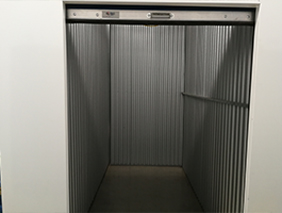 An available 5x10x10 storage locker.