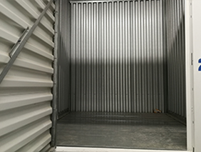 An available 5x5x6 storage locker.